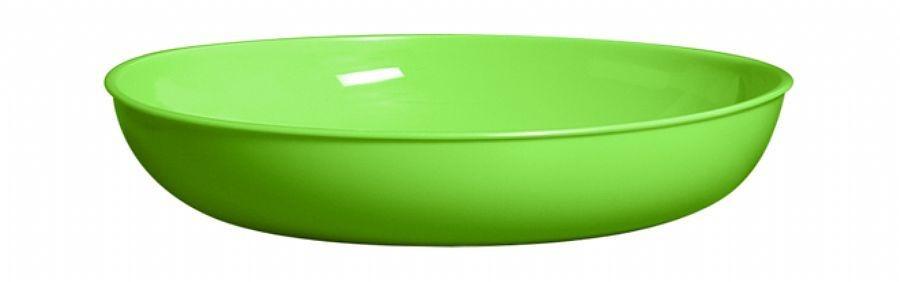saladeira plastica redonda grande rasa unid