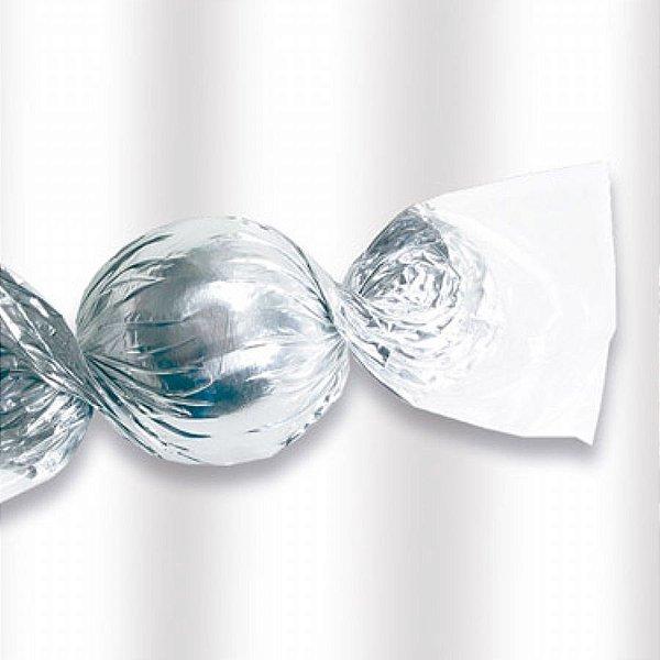 Embalagem p/ Bombons (Torção) 20x20 Celofane Incolor c/100 unids