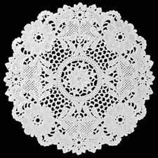 Toalha Rendada Papel Mago (Doilies) mod 252 (25 cm) 100 unids