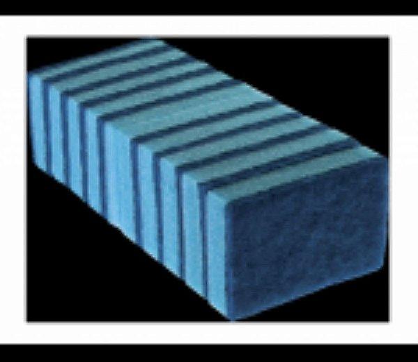 Esponja dupla face Azul (NAO RISCA) 10 unids