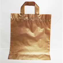 Sacola Alça Fita Dourada 40x50 1kg