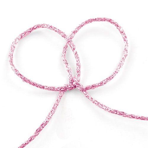 Fios Metalizados Aramados Rosa 10mts unid