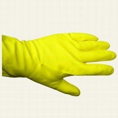 Luva PVC P Amarela par