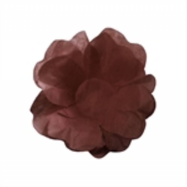 Forma Papel Seda Flor Marrom c/40 unids  (consultar disponibilidade antes da compra)