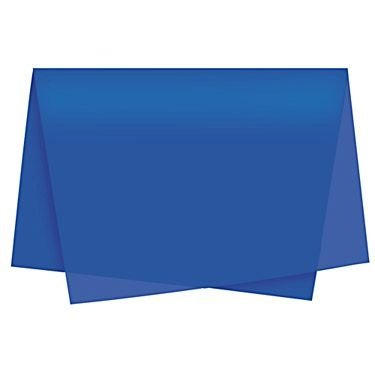 Papel Seda Azul Royal c/ 100 unids