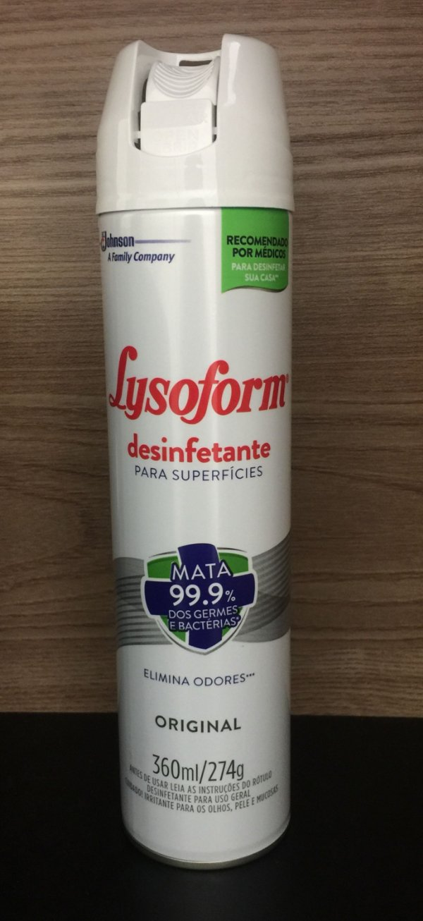 Lysoform Spray 360ml Bactericida unid