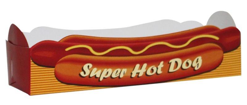 Caixa p/ Hot Dog  (papelão) c/20 unids (consultar disponibilidade antes da compra)
