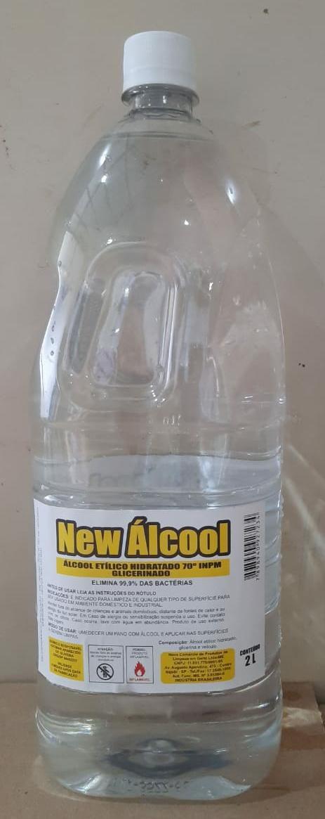 Álcool Liquido 70% 2lts