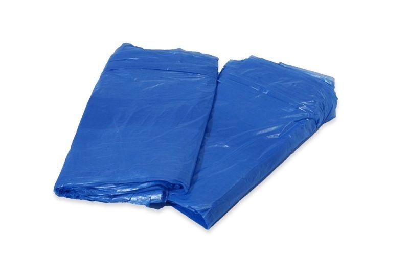 *Saco lixo 100lts Azul (0,4) c/100 unids