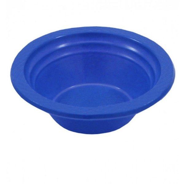 Cumbuca Plastica Pf12cm Azul Escuro Trik Trik 10 unids (consultar disponibilidade antes da compra)