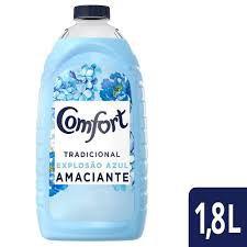 Amaciante 1,8lt Explosao Azul Tradicional unid