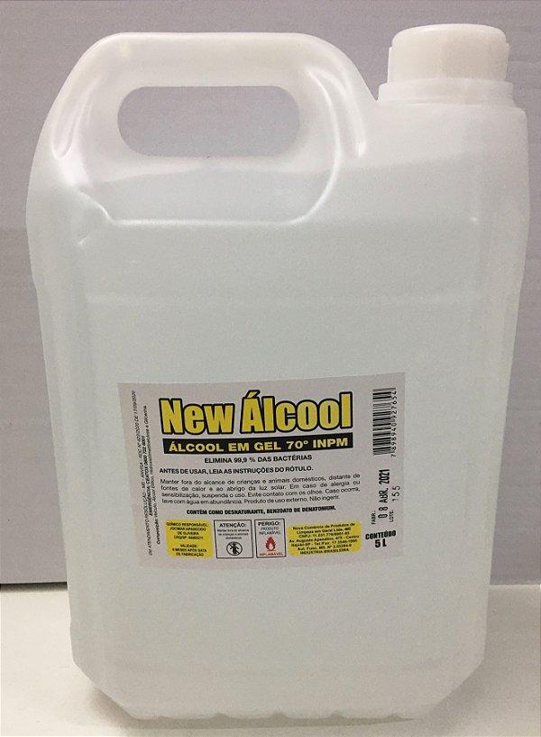Álcool Gel 70% New 4,3kgs