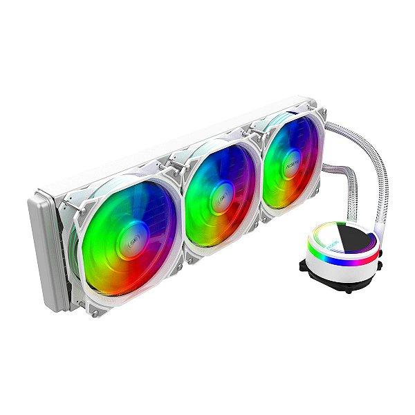 Water Cooler RGB Alseye M360 Max Series 3x FANs Branco