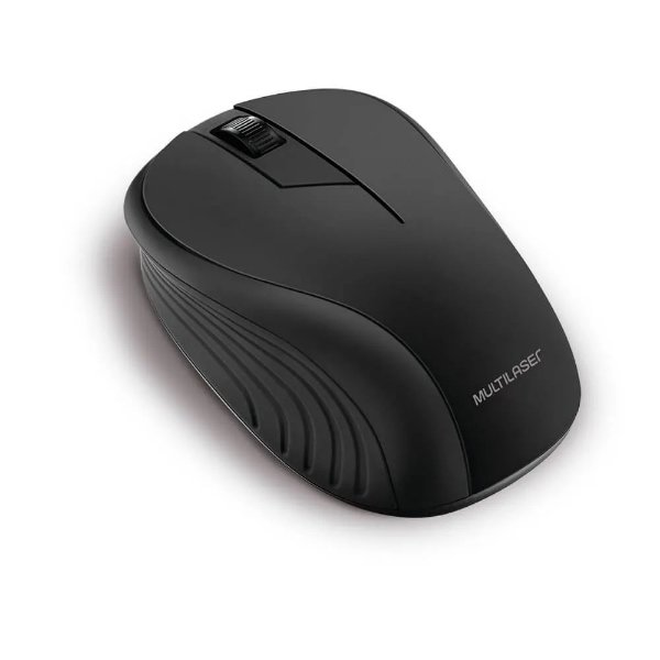 Mouse Sem Fio Wireless Multilaser MO212 C/ Mini Receptor USB