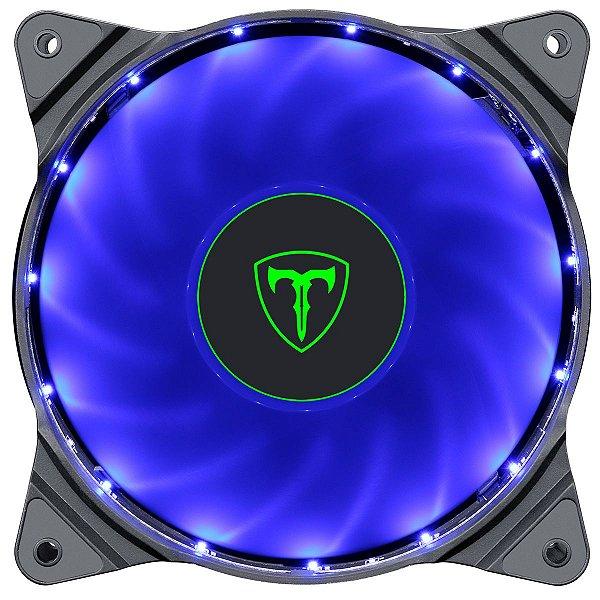 Fan Cooler T-Dagger TGF300 LED Azul Conector 3 Pinos + Molex