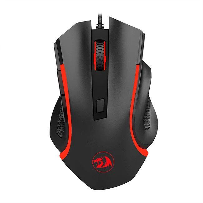 Mouse Gamer Redragon Nothosaur M606 3200 DPI 6 Botões 4 Cores