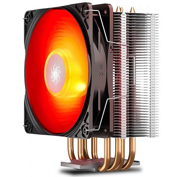 Cooler para Processador Gammaxx 400 V2 com Led Vermelho Deepcool