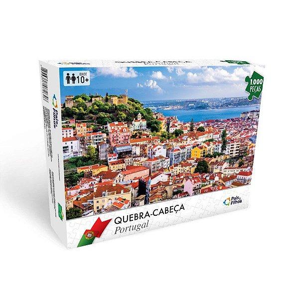 Quebra Cabeça 1000 Peças - Paisagem Portugal