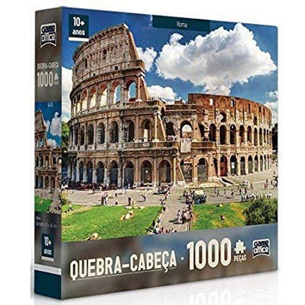Quebra-Cabeça 1000 Peças - Paisagens - Roma