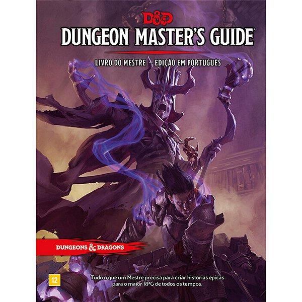 Dungeons & Dragons - Livro do Mestre Edição em Português