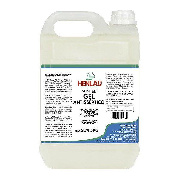 ALCOOL ETILICO 5L HENLAU