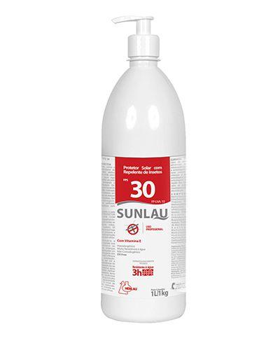 PROTETOR SOLAR FATOR 30 (1 KG) C/ REPELENTE - HENLAU