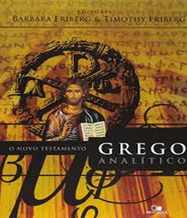 Novo Testamento Grego Analitico, O