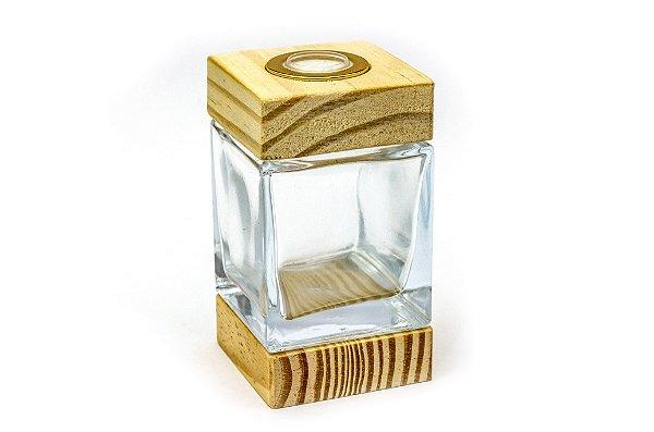 Vidro Cubo - 100ml