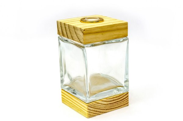 Vidro Cubo - 250ml