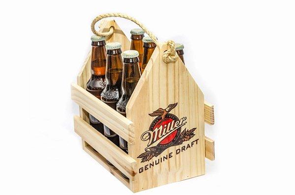 Engradado Pinus para Bebidas - Miller
