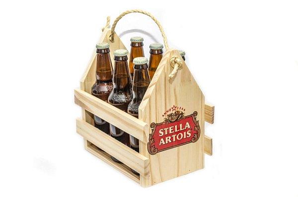 Engradado Pinus para Bebidas - Stella Artois