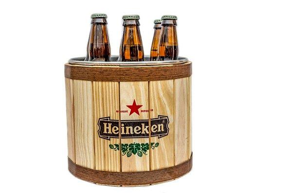 Balde de Gelo Alumínio / Pinus - Heineken