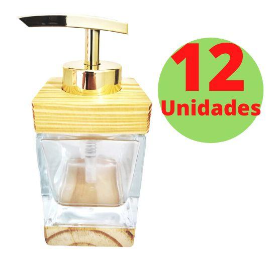 Saboneteira Cubo - 250ml - 12 Unidades