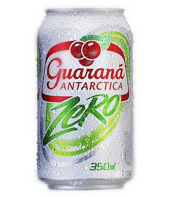 Guaraná zero Antarctica (lata)
