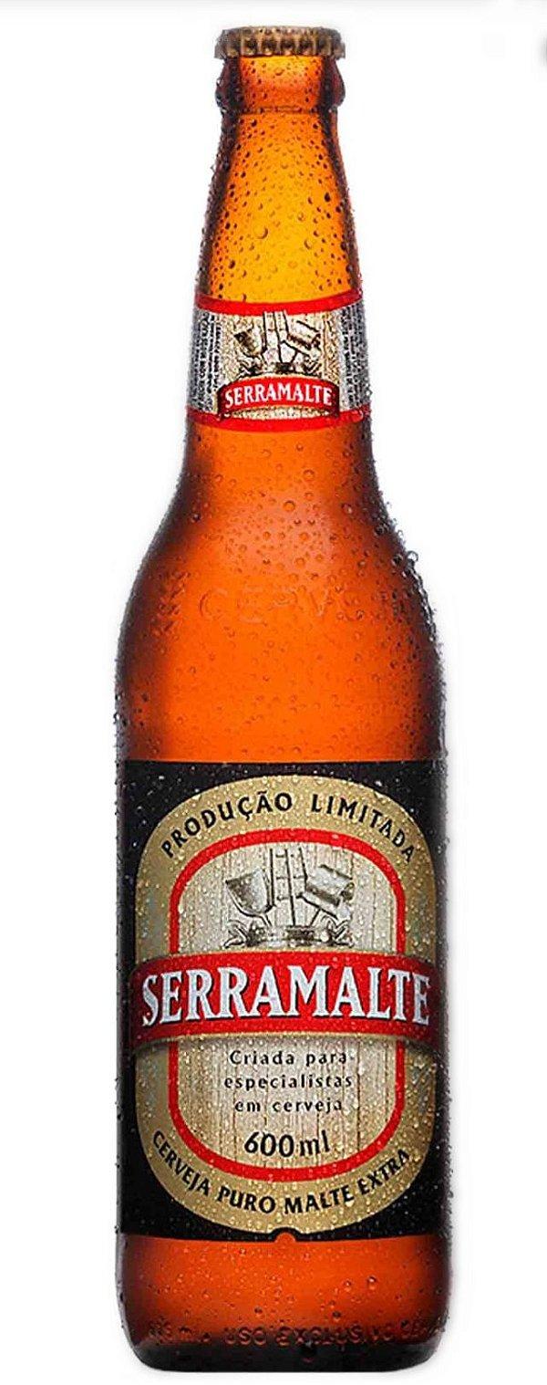 Cerveja Serramalte (600ml)