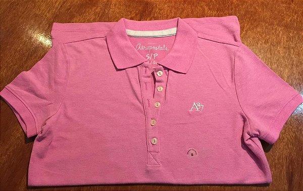 6808cb1ff8 Camiseta Polo Feminina Aéropostale - Roupas Importadas USA - MR TIDY ...
