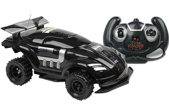 Carro de Controle Combat Car Star Wars Dart Vader Preto 7 Funções - Candide