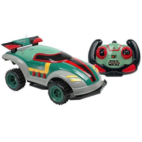 Carro de Controle Combat Car Star Wars Boba Fett 7 Funções - Candide