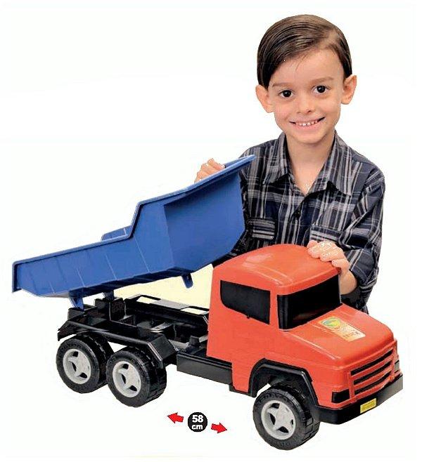 Caminhão Basculante Super Truck 58cm - Adijomar