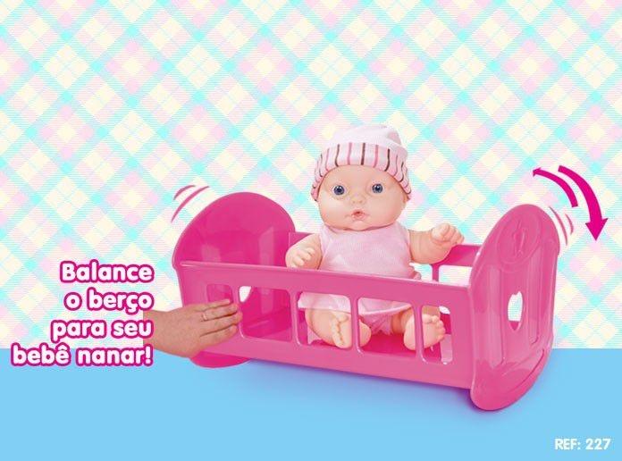 Boneca Nenequinha Bercinho - Supertoys