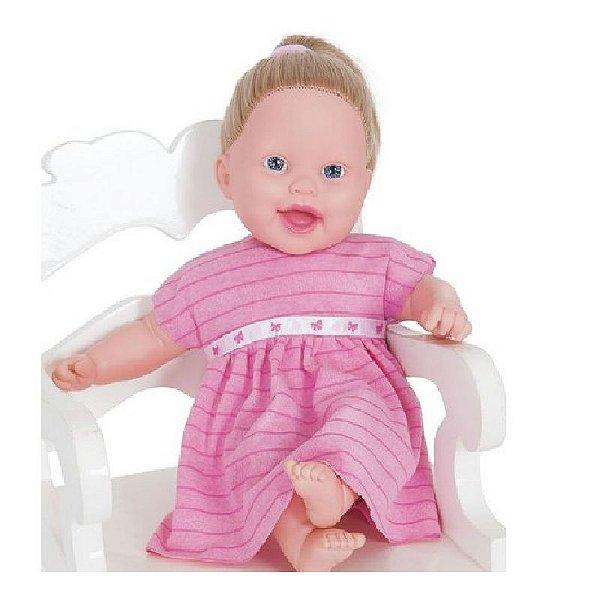 Boneca Lisa Brincando Com Os Sentidos - Super Toys