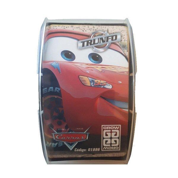 Jogo Super Trunfo Carros Disney - Grow