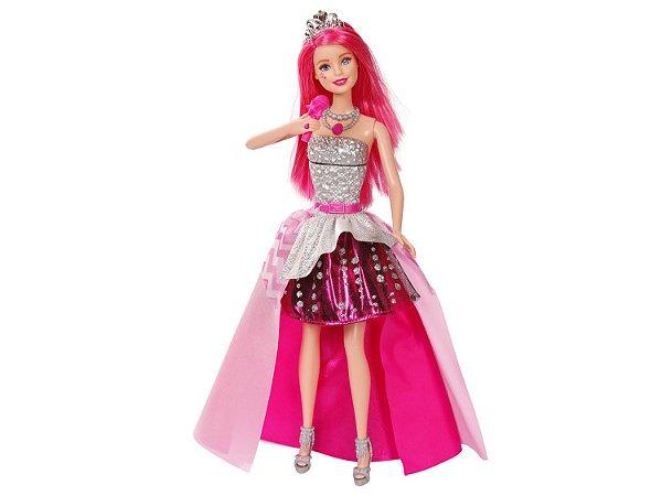 Boneca Barbie Rock IN Royals - Mattel