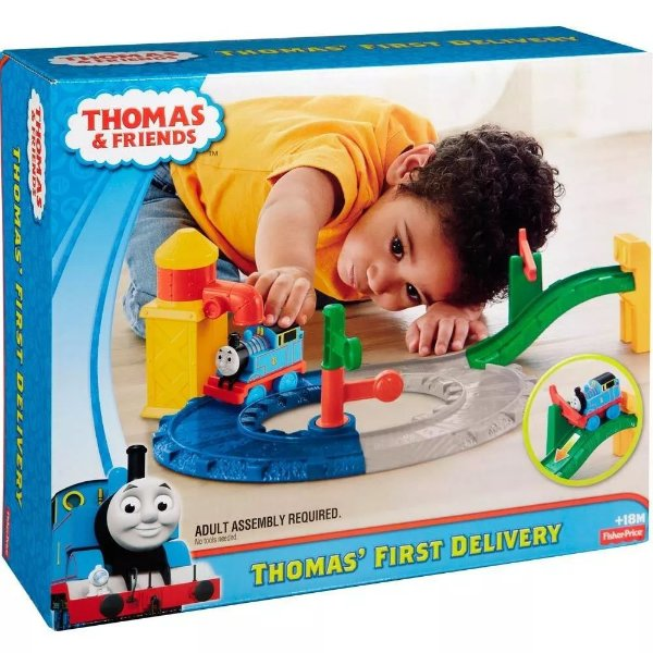 Thomas & Friends Minha Primeira Ferrovia - Fisher-Price