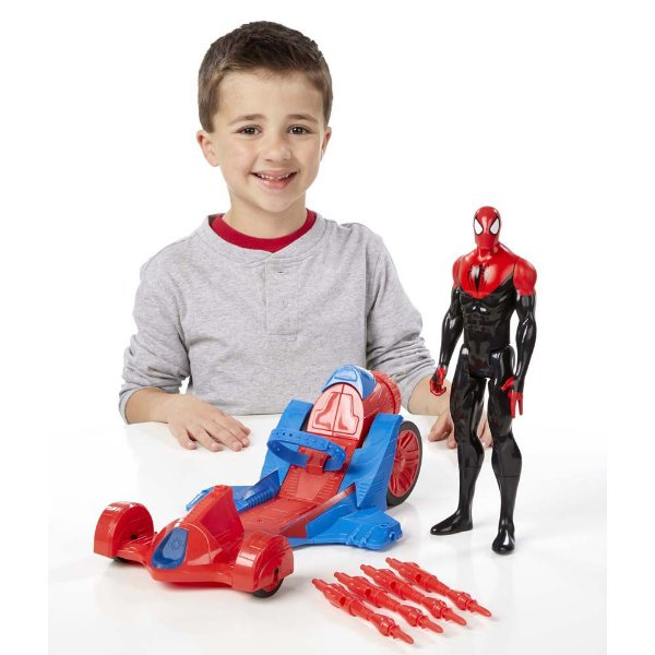 Homem Aranha Spider Man Carro de Corrida - Hasbro