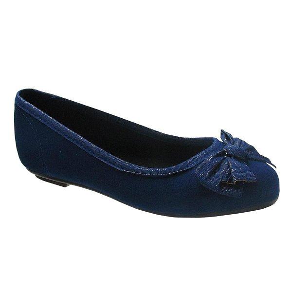 Sapatilha Infantil Menina Molekinha Vintage 2099.105 - Azul - Molekinha