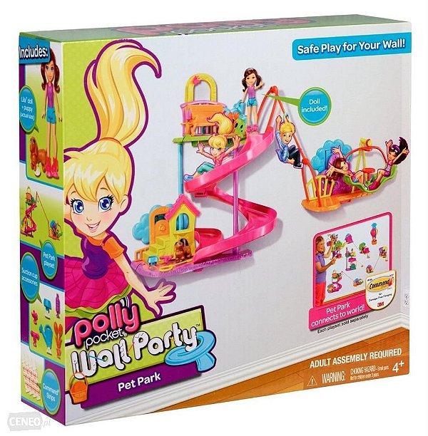 Polly Pocket Wall Party Mundo Divertido Parque dos Bichinhos - Mattel