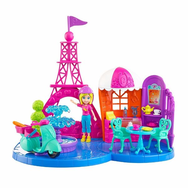 Polly Pocket Conjunto Férias Paris - Mattel