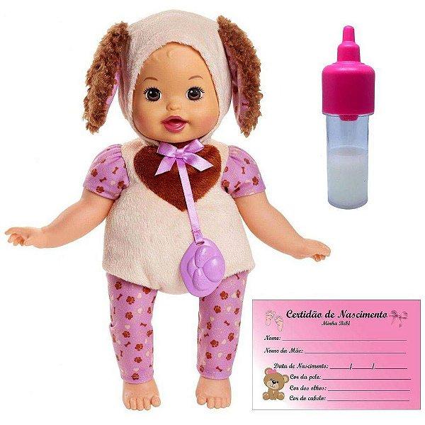 Boneca Little Mommy Fantasias Fofinhas Cachorrinha - Mattel
