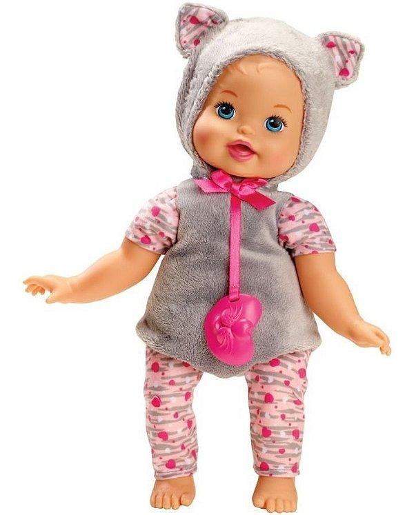 Boneca Little Mommy Fantasias Fofinhas Gatinha - Mattel